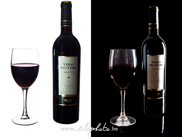 Which wine looks more expensive?