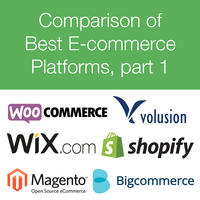 Comparison of E-commerce Platforms - Part 1