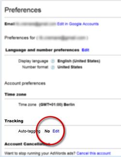 """De """"Auto-tagging"""" optie vindt u onder """"Mijn Account"""" -> """"Voorkeuren""""."""