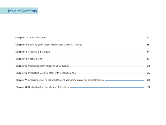 Free eBook: Facebook Content Marketing For Businesses by