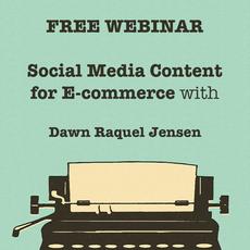 Social Media Content voor E-commerce