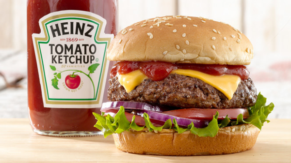 Don't you need the ketchup now when you see the burger?