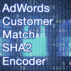 AdWords Customer Match SHA2 Converter