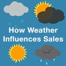 Wat is de invloed van het weer op verkopen