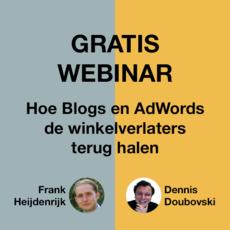 Hoe Blogs en AdWords winkelverlaters terug halen