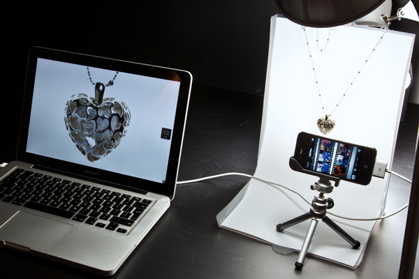 Shooting product photos with your iPhone.