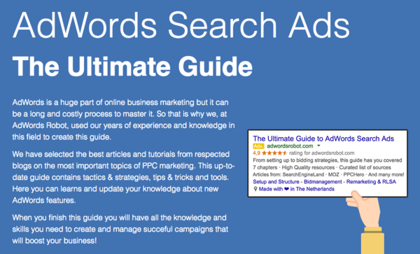 Complete guide to google adwords certification tips tricks ebooks and guides fandeluxe Gallery