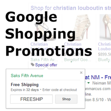 How to set up Google Merchant promotions using Merchant Rules
