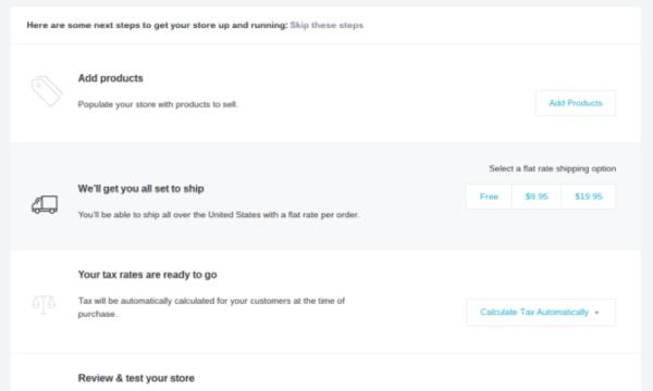 BigCommerce Setup Page