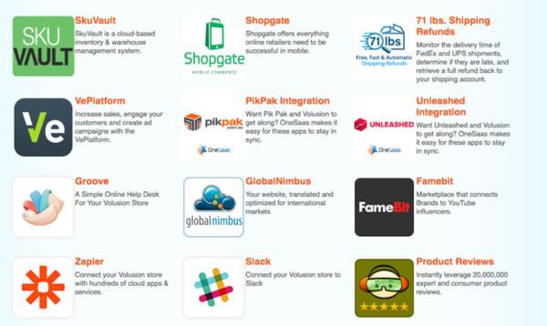 Volusion's App Store