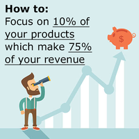 Google Shopping: Focus on 10% of your products which make 75% of your revenue [how to]