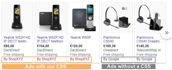 Google Shopping changes