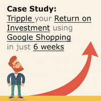How to triple the ROI and the Google Shopping traffic in 6 weeks [case study]