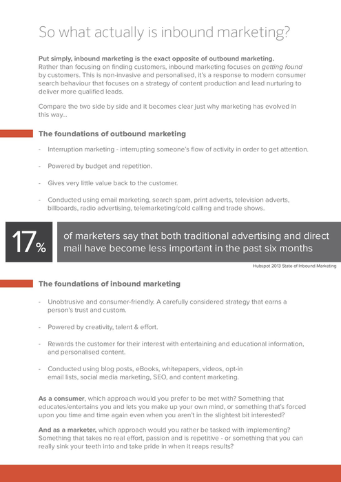 Free eBook: Using Inbound Marketing To Generate Leads And