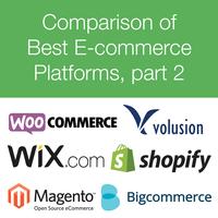 Comparison of E-commerce Platforms - Part 2